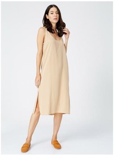 Fabrika Fabrika Kadın Vizon Elbise Vizon